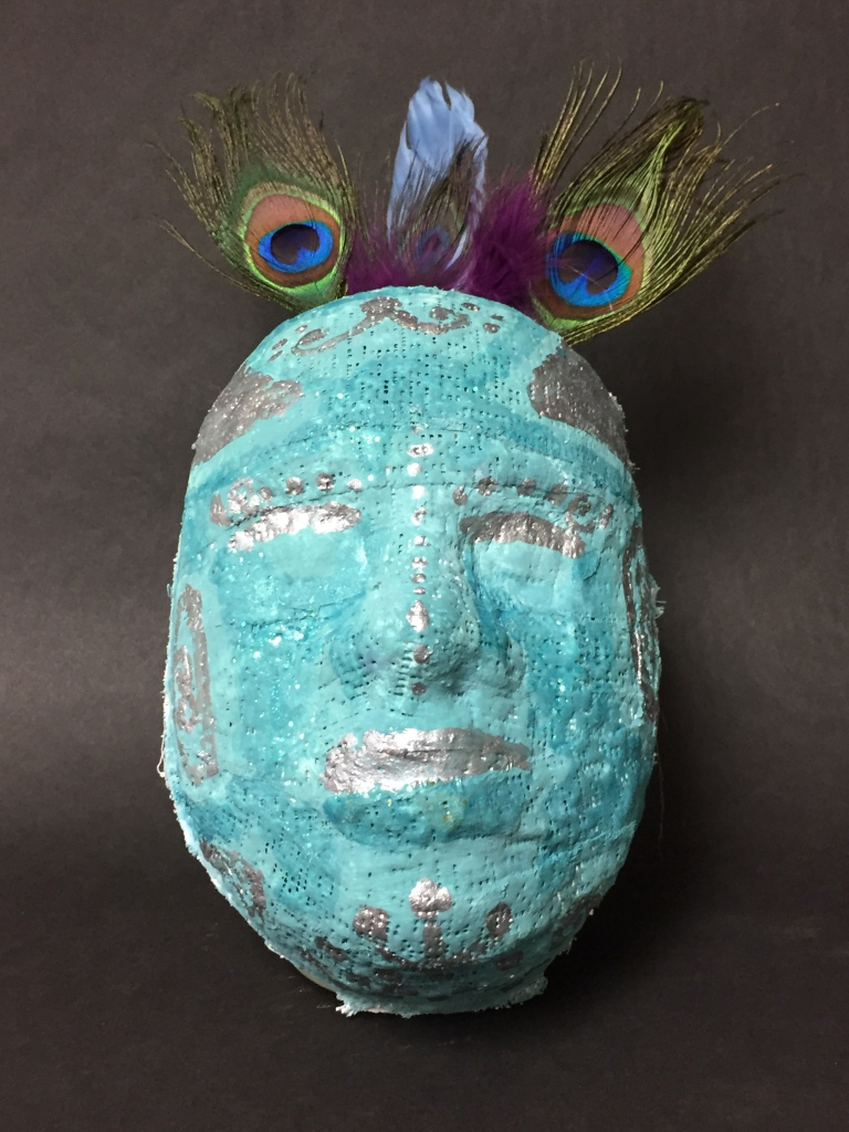 """Mask"" Callie Enger Plaster 5th Purdy NFS"