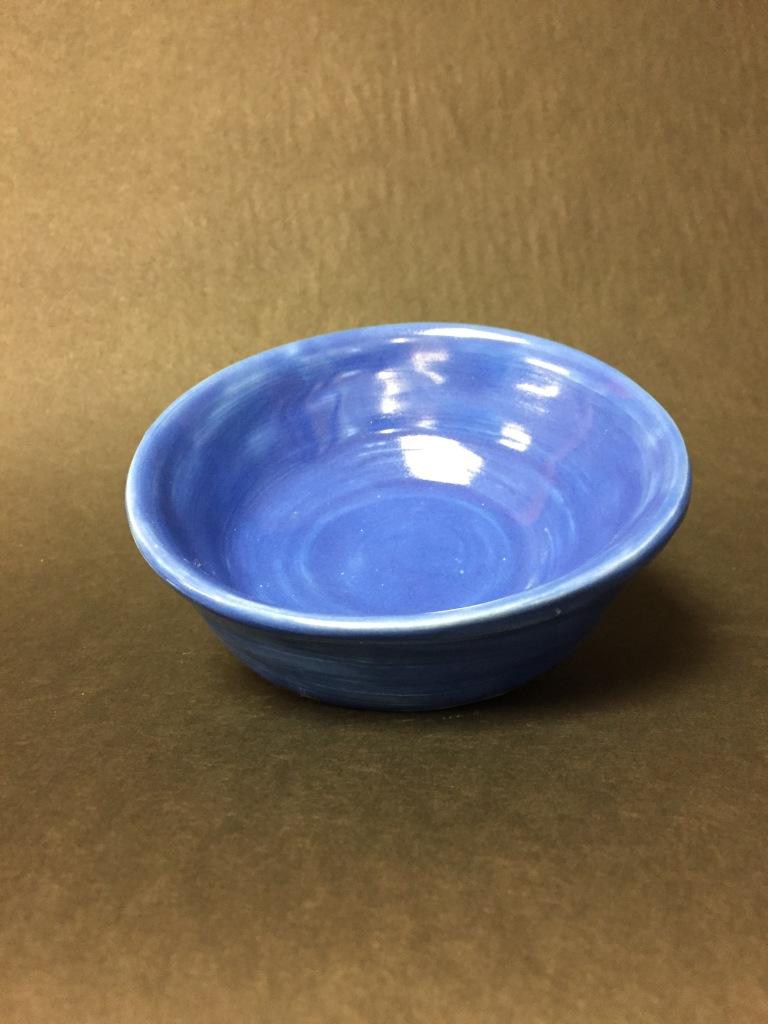 """Blue Bowl"" Lilian McKinney Clay 2nd Purdy NFS"