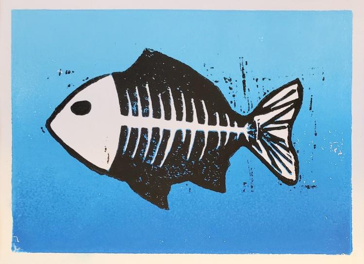 """Fish in Troubled Waters,"" Carter Lemke"