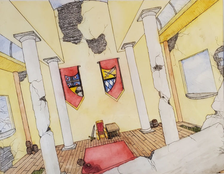 """The Deteriorating Hall,"" Eli Szabo"