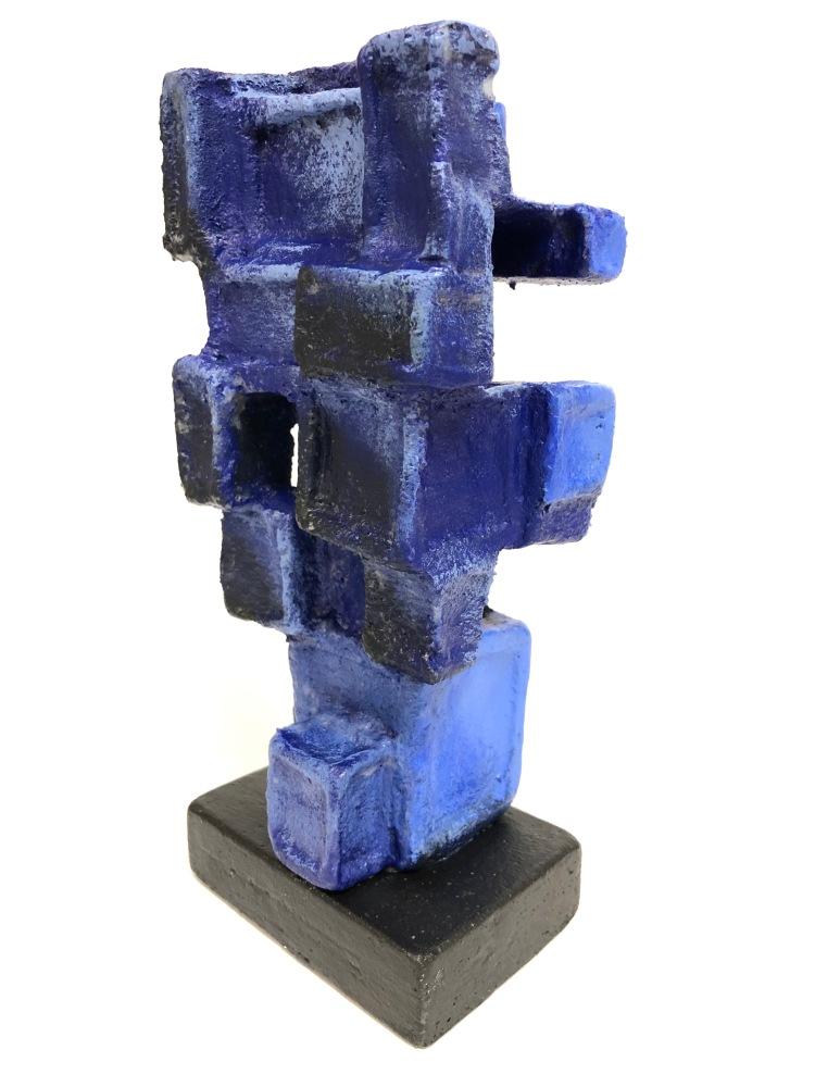 """""""Falling Blocks"""", Calvin Ficenec, Foam and Acrylic Paint, 8 FAMS, $30"""