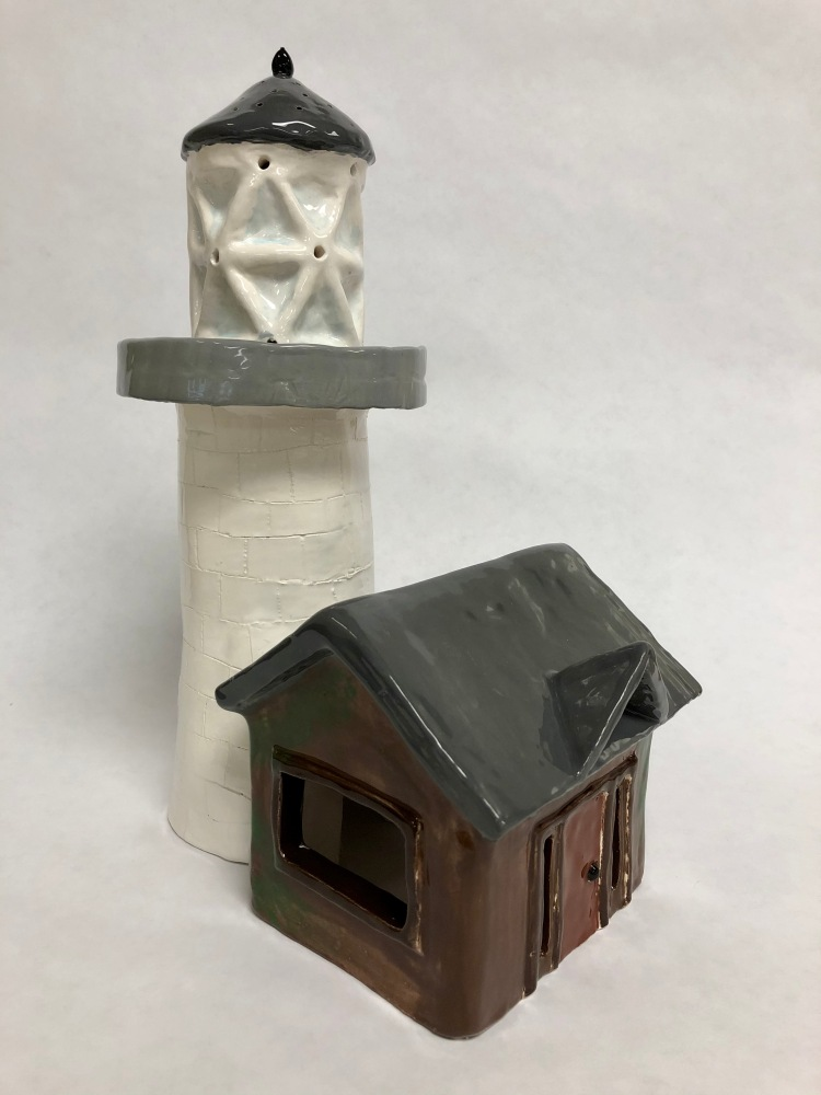 """""""Hope In the Darkness"""" Cassandra Chase, Ceramics, 8 FAMS, NFS"""