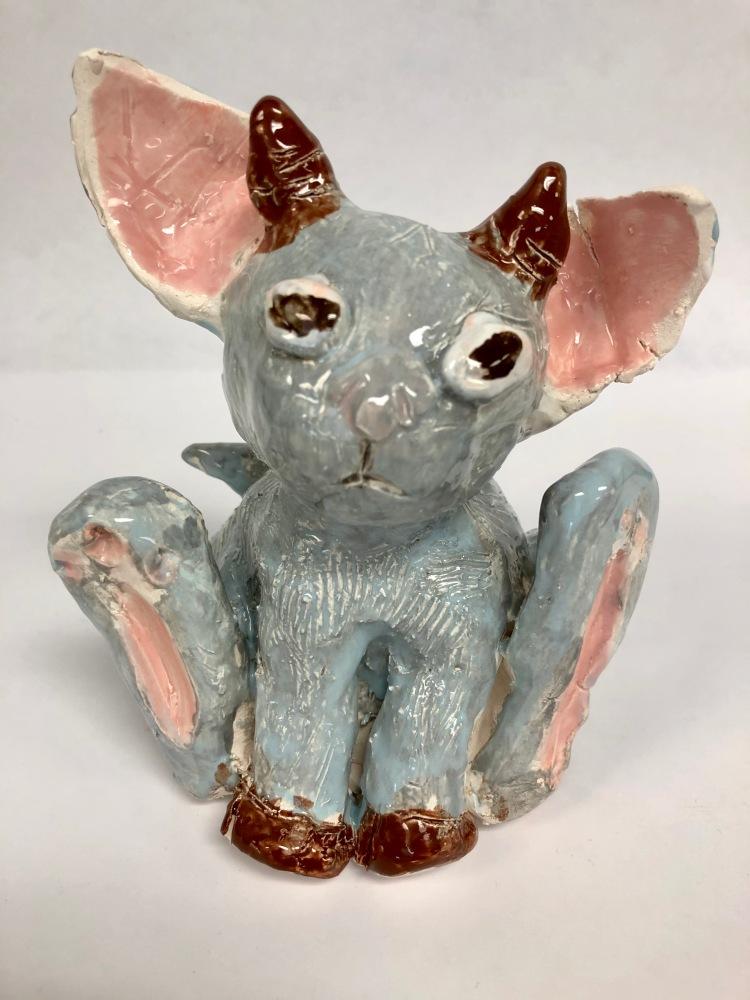 """""""Hydra"""" Melanie Belzer, Ceramics, 8 FAMS, $50"""