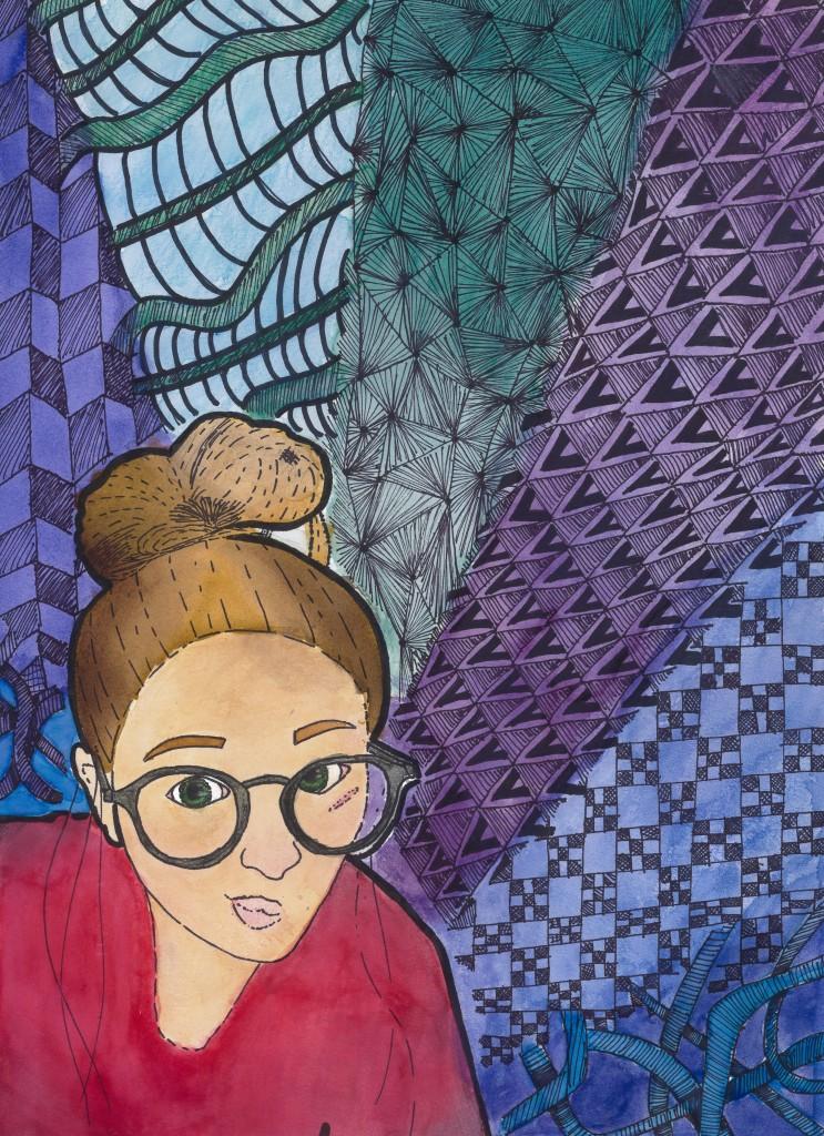 """Self Portrait,"" Kaylee Stortz"
