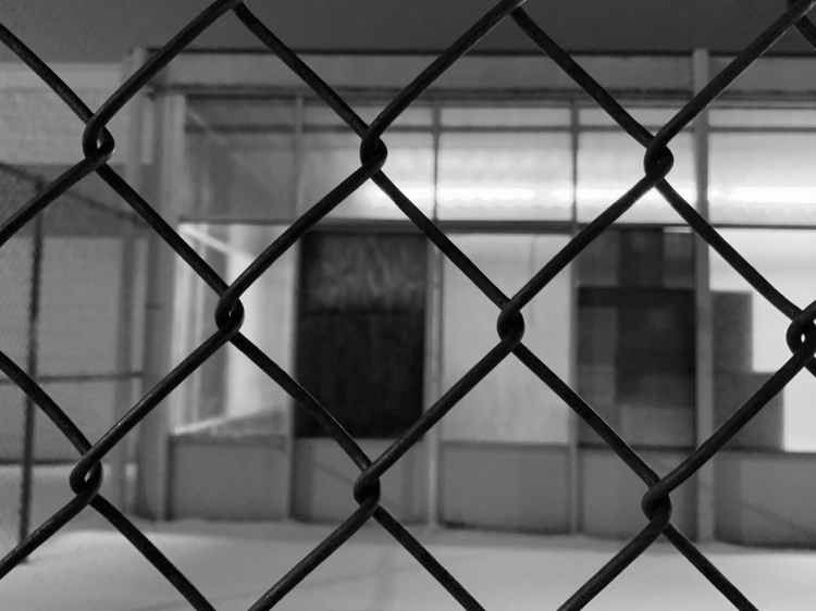 """Window Behind the Fence,"" Rocco Dourain, Digital Photograph, 9 FAHS, $50"