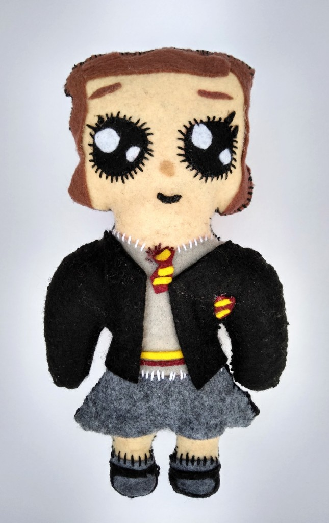 """""""The Brightest Witch of Her Age,"""" Sophie Lonsdale, Felt & Poly-fil, 5 Barrie, NFS"""