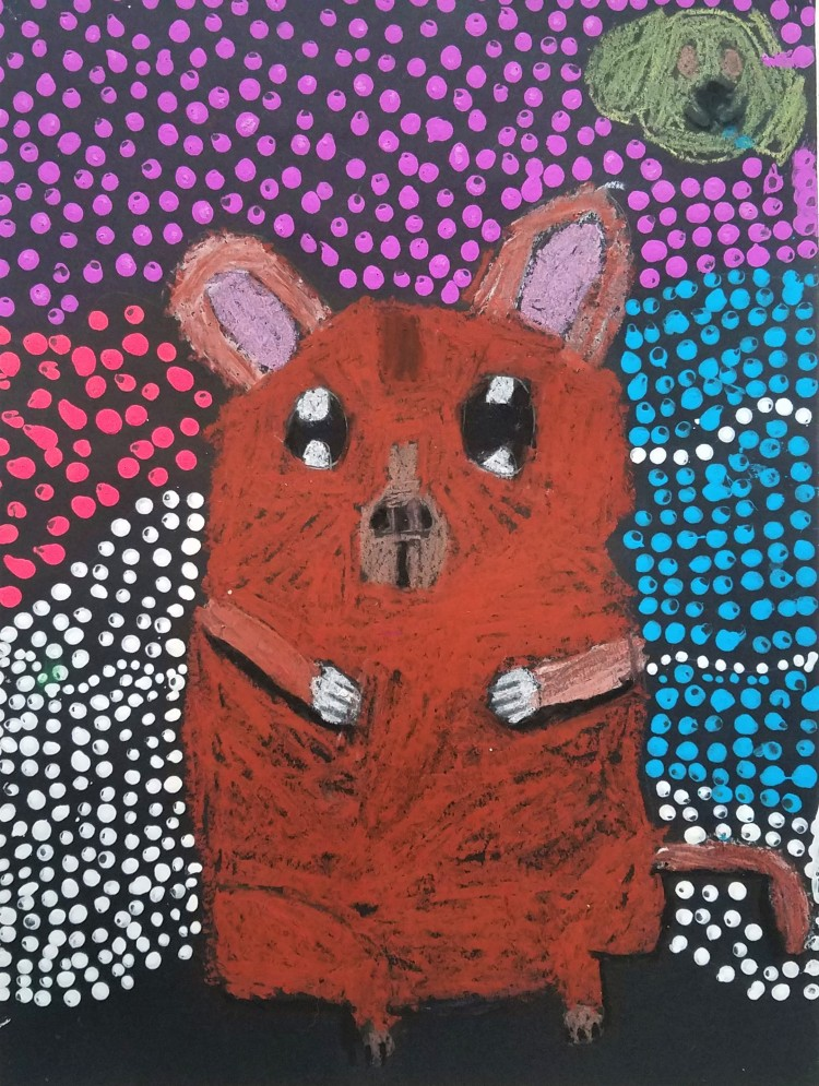 """""""Wallaby"""", Mikayla Austin, Mixed Media, 3 Luther, NFS"""