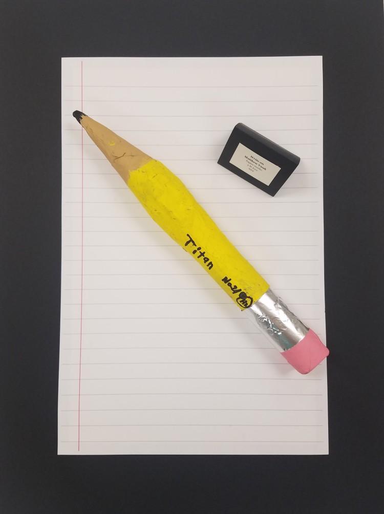 Write On, Matthew Vnuk, Papier Mache, 3, St Joes, NFS