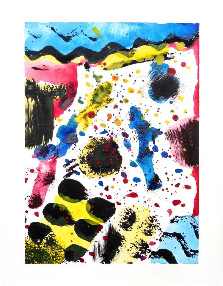 """Cereal,"" Wyatt Stradusky, Acrylic & Watercolor, K Barrie, NFS"